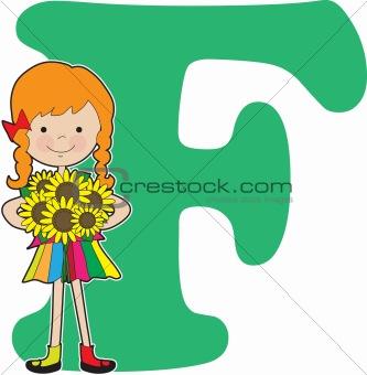 Alphabet Girl F