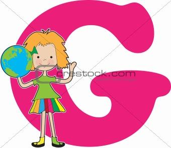 Alphabet Girl G