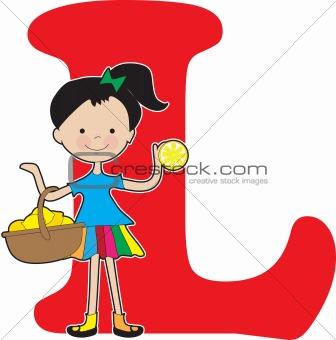 Alphabet Girl L