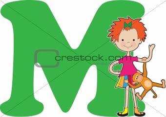 Alphabet Girl M