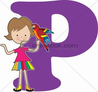 Alphabet Girl P