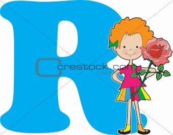 Alphabet Girl R