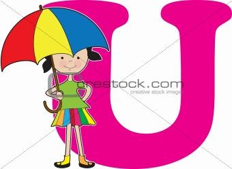 Alphabet Girl U