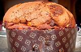 Panettone Italian dessert