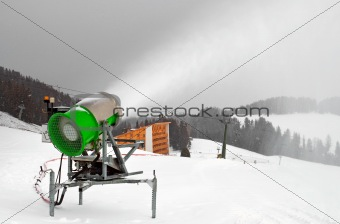 Artificial Snow cannon