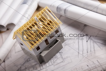 Architecture project building