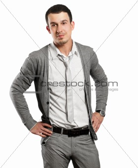 Businessman Looking On Camera