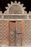 A doorway in Ali Ben Youssuf Madressa