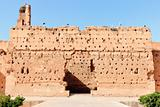 Ancient wall at El-Badi Palace