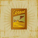 Retro Cereal Box