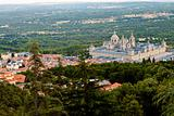San Lorenzo de El Escorial Monastery From Above