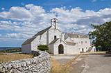 St. Maria di Barsento Church. Noci. Puglia. Italy.
