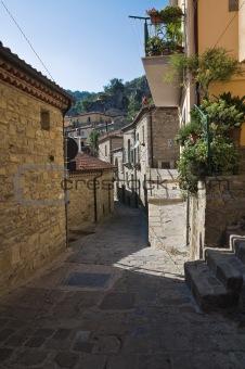 Alleyway. Castelmezzano. Basilicata. Italy.