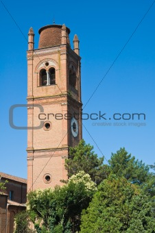 St. George's outside the walls. Ferrara. Emilia-Romagna. Italy.