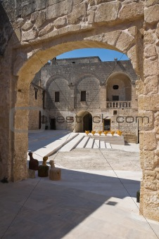 Episcopio Castle. Grottaglie. Puglia. Italy.