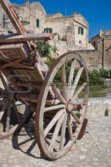 View of Matera. Basilicata. Italy.