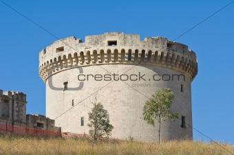 Tramontano Castle. Matera. Basilicata. Italy.