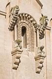 Detail of Matera Cathedral. Basilicata. Italy.