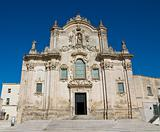 St. Francesco d'Assisi Church. Matera. Basilicata. Italy.