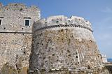 Castle of Monte Sant&#39;Angelo. Puglia. Italy.
