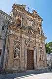 St. Giovanni Battista Church. Oria. Puglia. Italy.