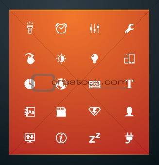 Universal glyphs 14. Phone symbols 3