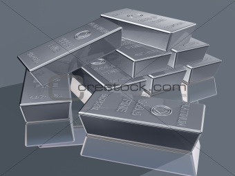 Platinum bullion