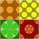 Backgrounds, citrus fruit