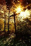 Crucifix with sun 2