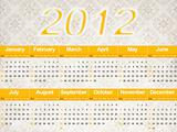 Two thousand and twelve calendar