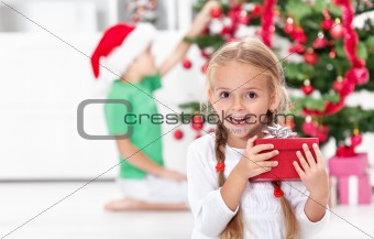 The thrill of christmas in childhood
