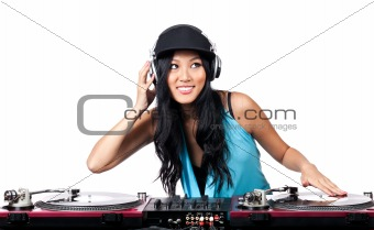 DJ on the Decks