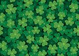Seamless Clover Pattern