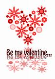 Be my valentine - beauty illustration