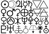 Astrological and Alchemical signs and symbols