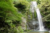 Water fall at the Mino Quasi National Park in Japan