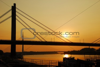 Bridges in Belgrade