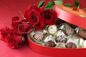Candy and Roses