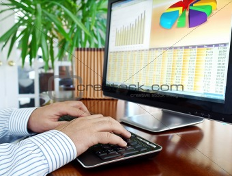 Analyzing data on computer