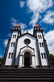 The church on Sao Miguel