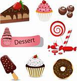 Dessert set