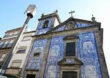 """Portugal. Porto city. Chapel """"Capela das Almas"""""""
