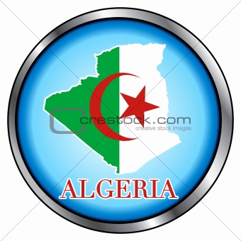 Algeria Round Button