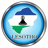 Lesotho Round Button