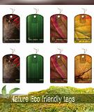 Nature Eco friendly tags