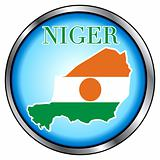 Niger Round Button