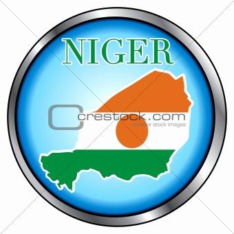 Niger Round Button