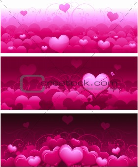 Valentine's day concept background