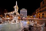 Fountain with Ancient Roman Statues
