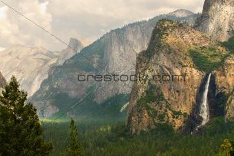 bridleveil falls, california